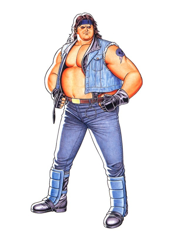 Art Of Fighting 2 Characters Jack Mickey