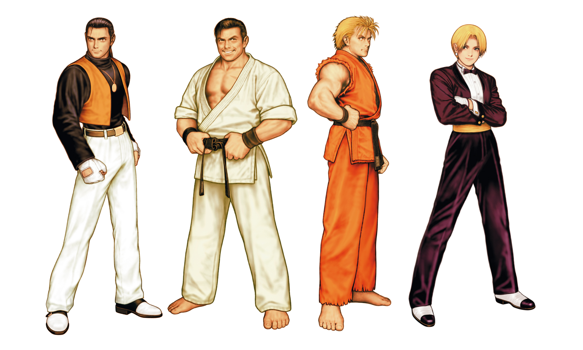 The King Of Fighters 2000 Characters Art Of Fighting Team