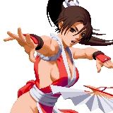 The King Of Fighters 2000 Characters Gals Fighters Team