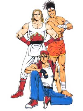 Kg Near Me >> THE KING OF FIGHTERS '95 || CHARACTERS || GAROU DENSETSU TEAM