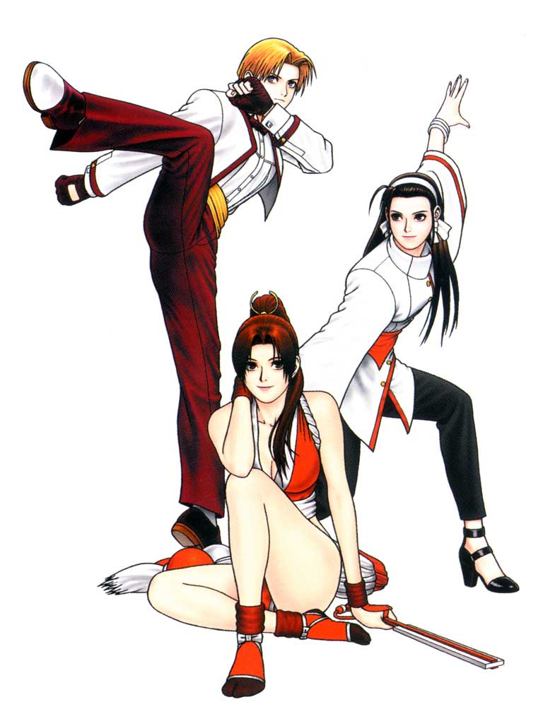 Kg Near Me >> THE KING OF FIGHTERS '98 || CHARACTERS || WOMEN FIGHTERS TEAM