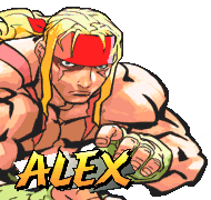 Street Fighter 3 Second Impact Characters Alex Dudley