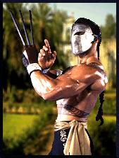 Street Fighter The Movie Characters Vega Viktor Sagat